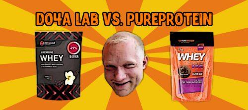 Do4a Lab VS. PureProtein