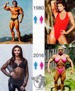 Эволюция мужчин и женщин
