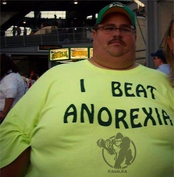 Он победил анорексию