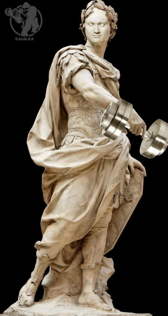 Памятник величайшему методисту