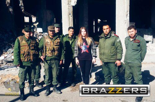 Марьяна Наумова и семеро сирийцев