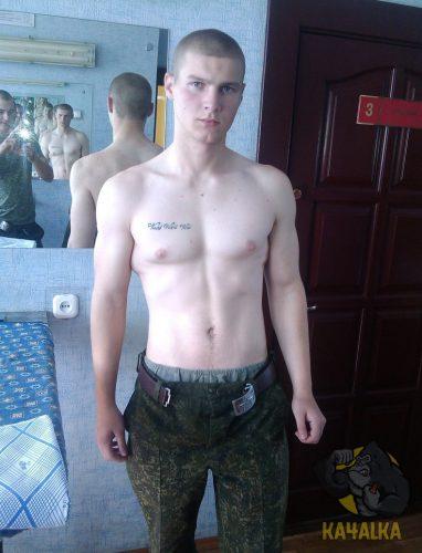 Zyzz в российской армии