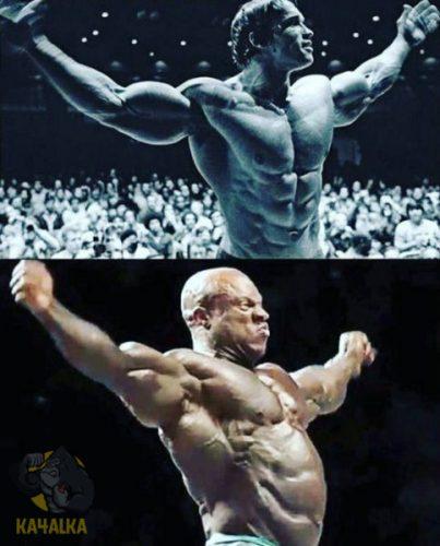 Эволюция бодибилдинга