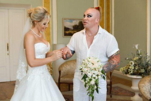 Свадьба Александра Шпака: тот неловкий момент, когда непонятно кто из них невеста