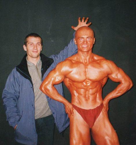 Денис Борисов в молодости