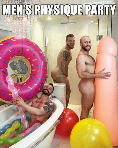 Men's Physique Party