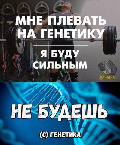 Мне плевать на генетику, я буду сильным