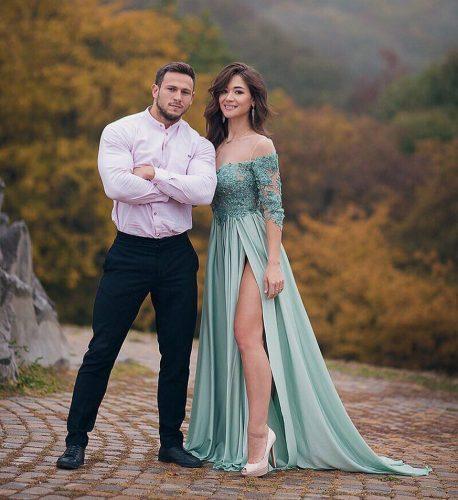 Тимур Панков и Арина Скоромная
