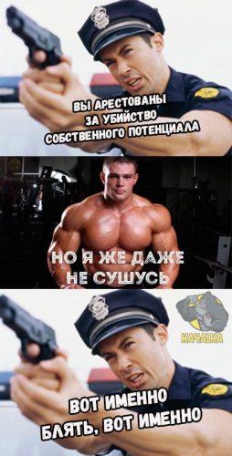 Арест Лесукова за убийство собственного потенциала