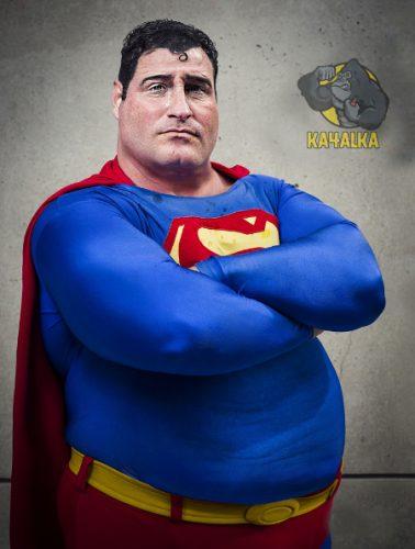 Супермен на массе