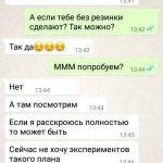 Переписка Терешина с клиентом