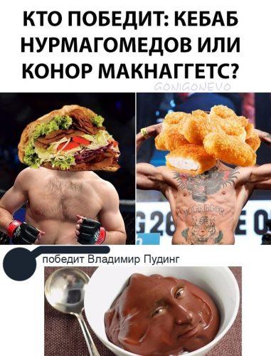 Кебаб Нурмагомедов или Конор Макнаггетс?