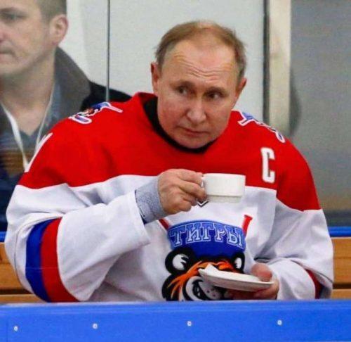 Путин — настоящий русский тигр