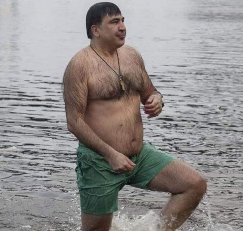 Саакашвили после двух таблеток трибулуса