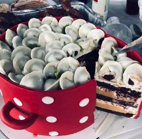 Торт «Пельменный»